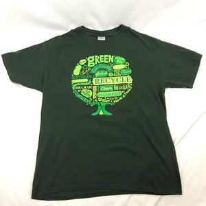 Green Earth Day Tee Recycling